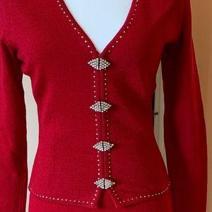 ⭐️HP⭐️ Michael St George Knit Suit!